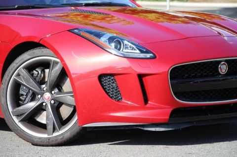 NEW 2017 JAGUAR F-TYPE S RWD COUPE