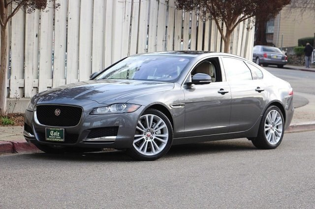 certified pre-owned 2018 jaguar xf 25t prestige sedan in walnut