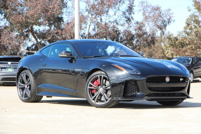 New 2019 Jaguar F Type Svr With Navigation Awd