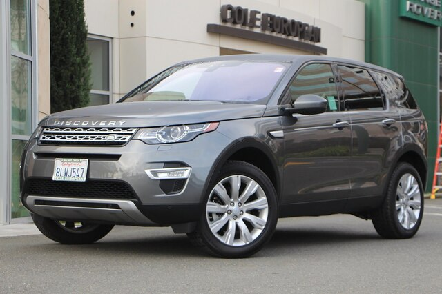 Certified Pre-Owned 2019 Land Rover Discovery Sport HSE LUX