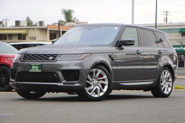 Certified Pre-Owned 2019 Land Rover Range Rover Sport Supercharged Dynamic
